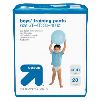 up & up Boys Training Pants - 4T-5T - 19 ct