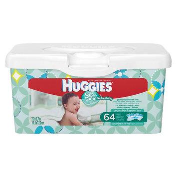 Huggies Naturally Refreshing Wipes Tub - 64 pk.