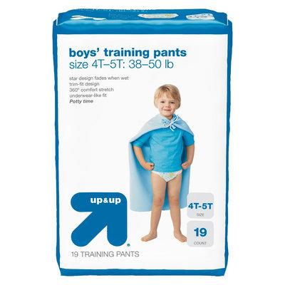 up & up Boys Training pants 4T 5T 38-50lb 19 ct