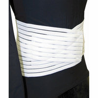 Bell-Horn Low Contour Lumbar Sacral Support in White