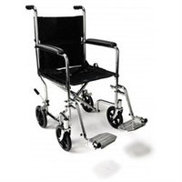 Everest Jennings Standard Transport Wheelchair Seat Size: 17