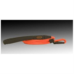 Mud River Dog Products The Hugo Training Lead in Blaze Orange