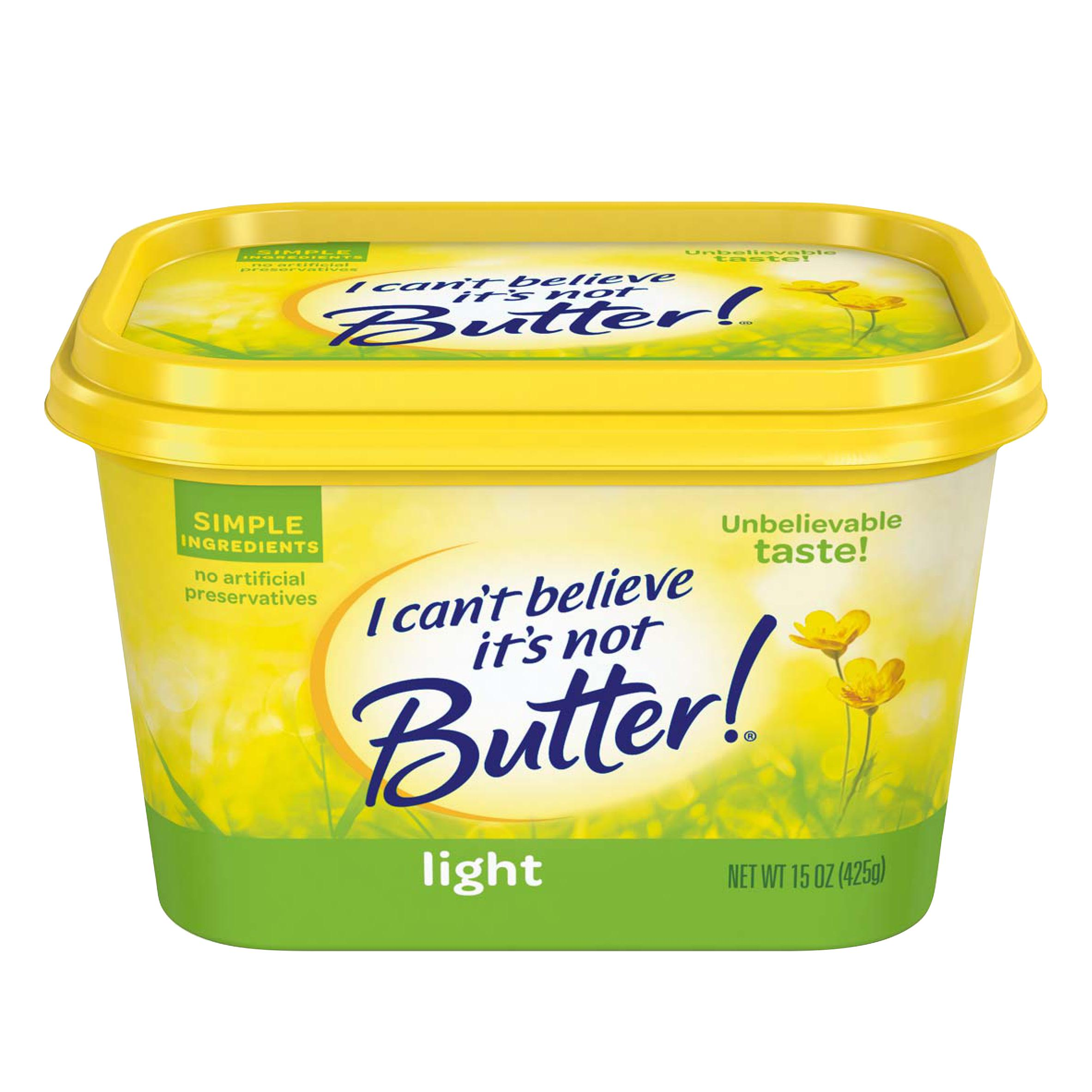 I Can't Believe It's Not Butter! Light 30% Vegetable Oil Spread