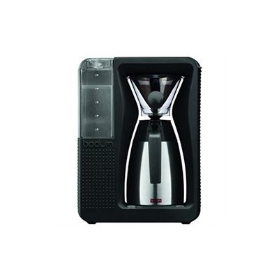 Bodum Bistro Automatic Pour Over Coffee Machine with Thermal Carafe, Black