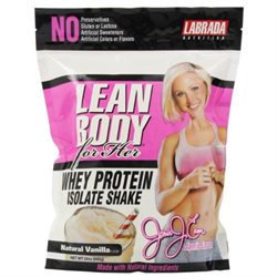 Lean Body For Her Whey Isolate Vanilla