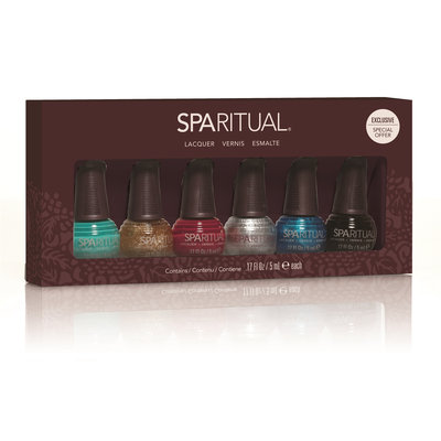 SpaRitual Holiday 6 Piece Mini Gift Set, 1 ea