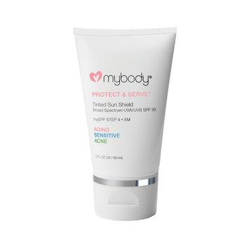 mybody Protect & Serve Tinted Sun Shield SPF 30