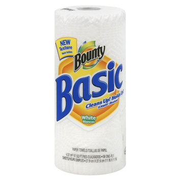 Procter & Gamble Towel, Bounty Basic, Wht