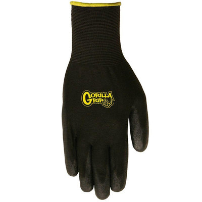 Big Time Products Medium Grease Monkey Gorilla Grip Gloves