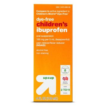 Up & Up Dye-Free Ibuprofen - Berry (4 oz.)