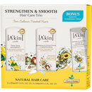 A'kin A kin Strengthen & Smooth Hair Trio with Bonus Leave in Conditioner