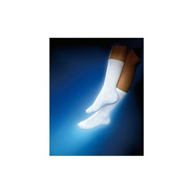 Biersdorf Patient Apparel Sensifoot 8-15mm Crew Support Sock, White