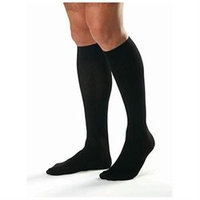 Jobst 110336 Mens 8-15 mmHg Closed Toe Knee Highs - Size & Color- Navy Small