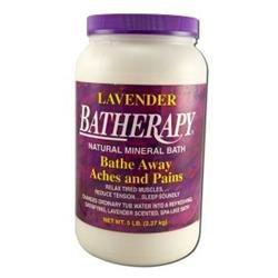 Queen Helene Natural Mineral Bath Salts Lavender - 5 lbs