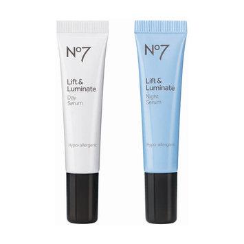 No7 Lift & Luminate Day & Night Serum