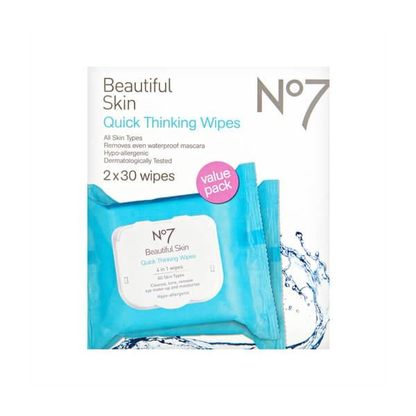 No7 Beautiful Skin Quick Thinking Wipes