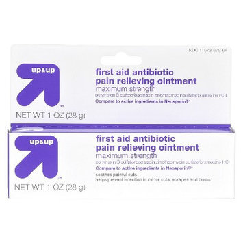 Up & Up First Aid Antibiotic Pain Relieving Ointment - 1 oz.
