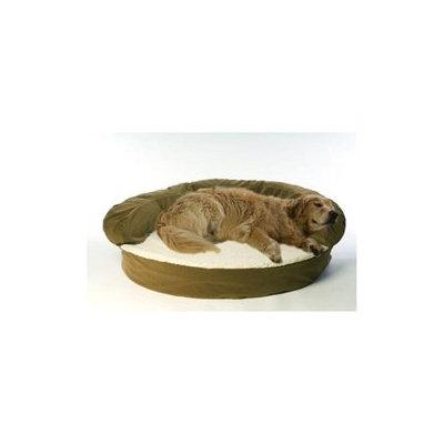 Taylor Gifts Carolina Pet Company Medium Ortho Sleeper Bolster Bed - Sage