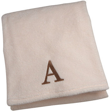 Little Bedding by NoJo Initial Blanket (Choose Your Letter)