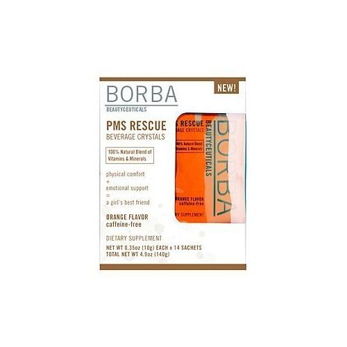 Borba PMS Rescue Beverage Crystals 14 count