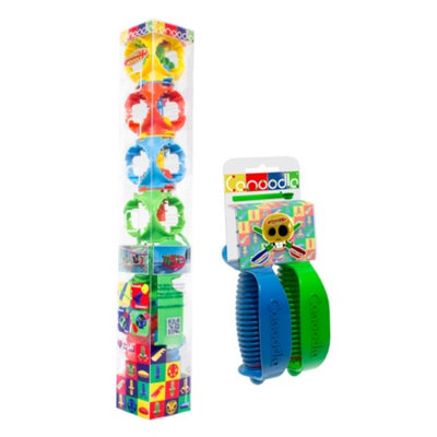 Canoodle Toy Mini Erector Set with Twin Sword Handles Ages 5+