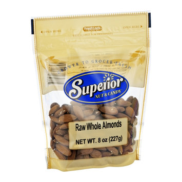 Superior Nut & Candy Raw Whole Almonds