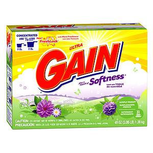 Ultra Gain with FreshLock plus a Touch of Softness Powder Detergent