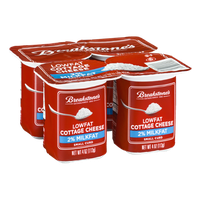 Breakstone's Lowfat Cottage Cheese - 4 CT