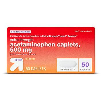 up & up Acetaminophen Pain Relief Caplets - 50 Count