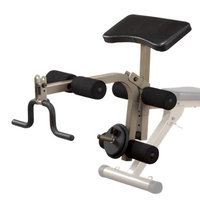 Body-Solid BFPL10 Best Fitness Leg Developer and Preacher Curl Attachment