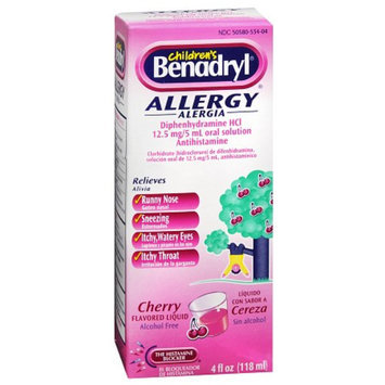 Benadryl Children's Allergy Liquid