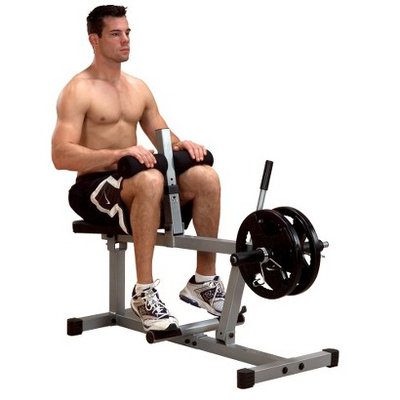 Body-Solid Powerline Seated Calf Machine