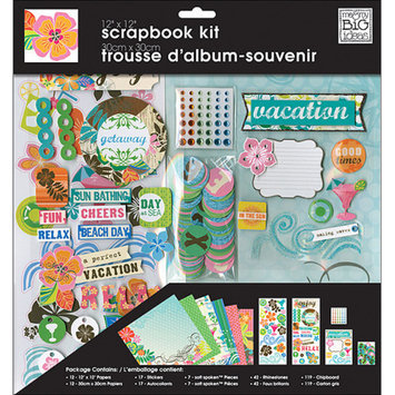Me & My Big Ideas Scrapbook Page Kit 12 inch x 12 inch