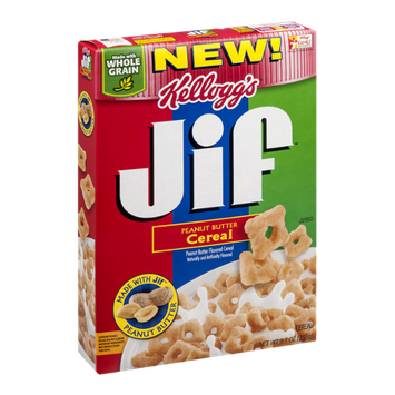 Kellogg's Jif Peanut Butter Cereal