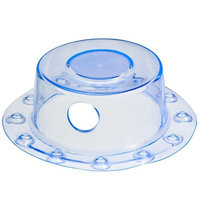 SlipX Solutions Bath Accessories 4 in. Bottomless Bath Overflow Drain Cover 30759-1