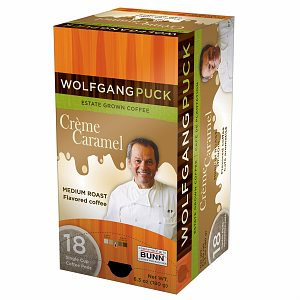 Wolfgang Puck WP791096 Caramel Cream Single Cup Coffee Pods