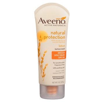 Aveeno Active Naturals Natural Protection SPF 50 Lotion