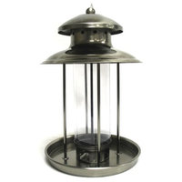 Gardman BA01337 Lantern Seed Feeder, Black