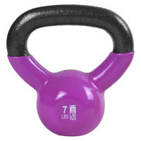 GoFit Kettlebell with DVD - Pink (7 lbs.)