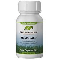 Native Remedies MIN001 MindSoothe for Emotional Stability - 60 VegeCaps