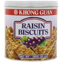 Khong Guan Raisin BiscuitsTin, 20-Ounce