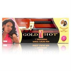 Belson Gold 'N Hot 1 Inch Professional Marcel Curling Iron Model No. GH496