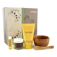 Decleor Home Spa Ritual: Fruit Seeds + Body Serum + Body Milk 3pcs