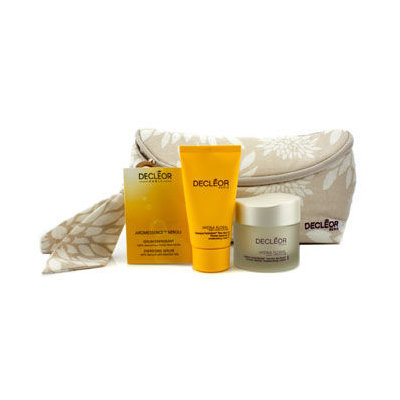 Decleor Hydra Floral Natural Beauty Collection: Cream + Mask + Aromessence Neroli + Bag 3pcs+1bag