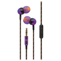 iHome Step Up Neon Earbud Headphones IB17UE (Purple)