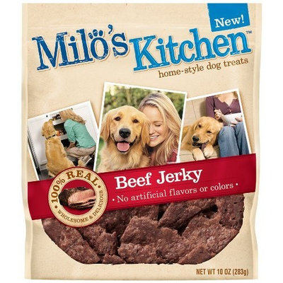 Milo's Kitchen Dog Treats, Beef Jerky