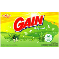 Gain With FreshLock Original Dryer Sheets 160 Count