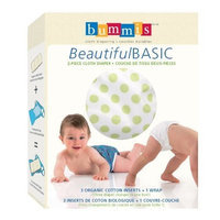 Bummis Beautiful Basic 2-piece Cloth Diaper, Unisex, Large (Discontinued by Manufacturer)