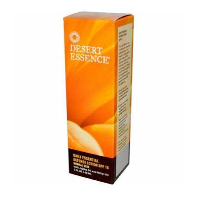 Desert Essence Daily Essential Defense Lotion SPF 15 2 fl oz