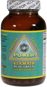 Klamath Blue Green Algae Klamath Blue-Green Algae Power 3+ 400 mg - 160 Vegetarian Capsules